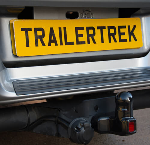 Towbar Fitting DVLA Approved Registration Plates