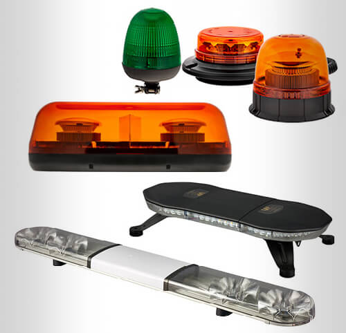 Fleet Vehicle Fitting LED Lighting Bars and Beacons