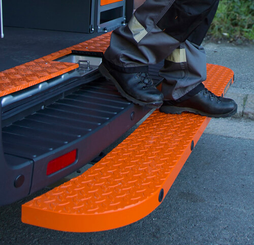 Fleet Vehicle Fitting Vehicle Towbar Steps and Rear Van Access Steps