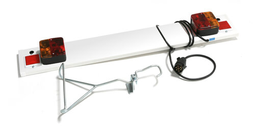 Towbar Bike Carrier Lights