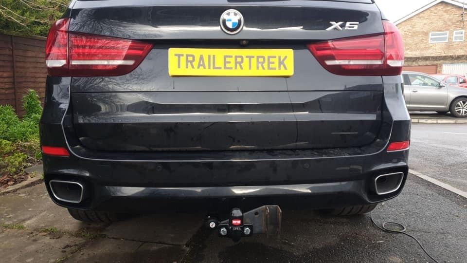 BMW X5 Towbar Fitted In Birmingham  y Trailertrek Towbars