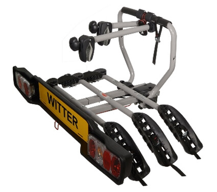 Witter Cycle Carrier Bolt-on Towball Mounted 3 Bike Cycle Carrier