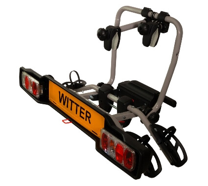 Witter Cycle Carrier Clamp-on Towball Mounted 2 Bike Cycle Carrier