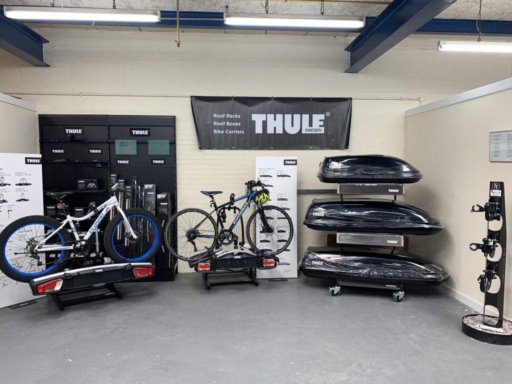 THULE and WITTER Products for sale - Bike carriers and roof boxes